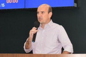 Fabiano Santos destaca instalação de posto para coleta de sangue em Araxá