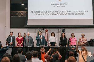 PA: Assembleia comemora os 75 anos da Escola de Enfermagem Magalhães Barata