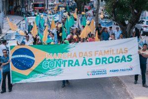 Marcha das famílias contra às drogas reuniu multidão em Abaetetuba