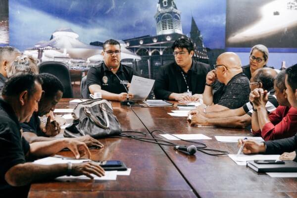 Fábio Freitas discute prevenção às drogas com entidades