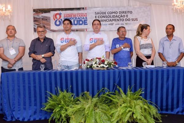 """Conferência municipal debate """"Democracia e Saúde"""" em Caxias (MA)"""