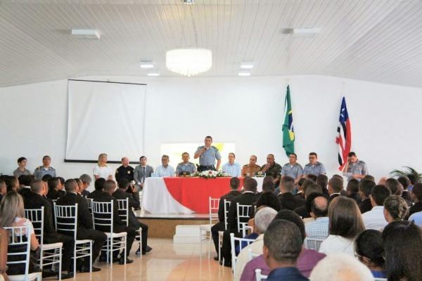 Fábio Gentil prestigia aula inaugural do Curso de Formação de Soldados da Polícia Militar