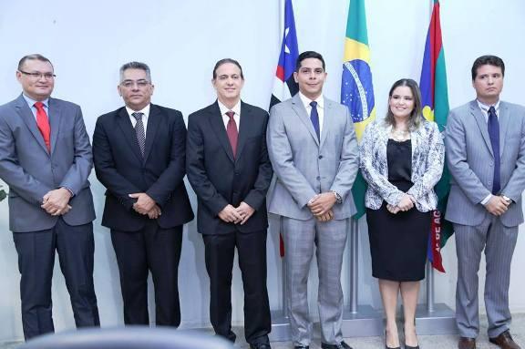 Fábio Gentil é diplomado prefeito de Caxias (MA)