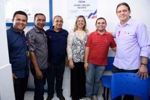Fábio Gentil entrega maternidade e UBS ampliadas à população de Caxias (MA)