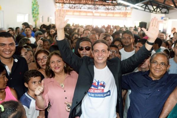 Fábio Gentil inaugura escola modelo no Residencial Vila Paraíso em Caxias (MA)
