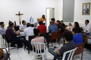 Fábio Gentil recebe secretários estaduais e cobra retorno de repasse à saúde de Caxias