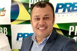 Fábio Santos, presidente estadual do PRB Paraná