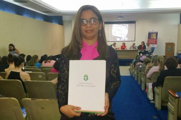 Fátima Souza participa de seminário de violência contra a mulher no CE