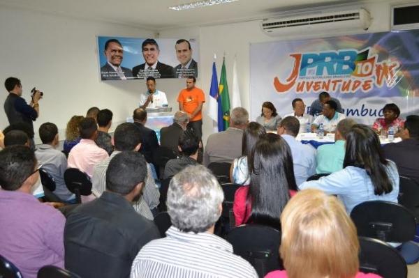 PRB Juventude empossa novo coordenador em Pernambuco