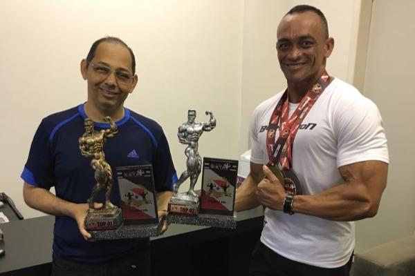 Vereador França apoia atleta de fisiculturismo em Belém
