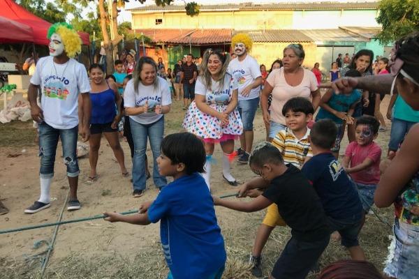 PRB Mulher Piauí leva diversão às crianças de Luís Correia