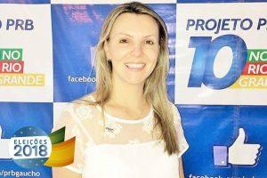 PRB anuncia a filiação da primeira dama de Farroupilha, Francis Somensi