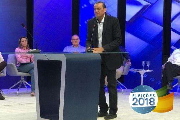 Frank Aguiar defende em debate da TV Meio Norte investimentos para a saúde do Piauí