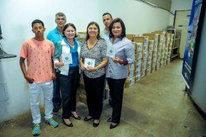 FRB e Liderança do PRB doam 7.360 livros ao programa Mala do Livro do DF