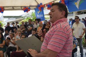 Gabriel Picanço participa de lançamento da construção de maternidade em Rorainópolis