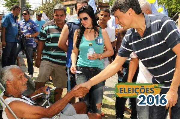 Gelsinho Guerreiro pede paz durante eleições de Mesquita (RJ)