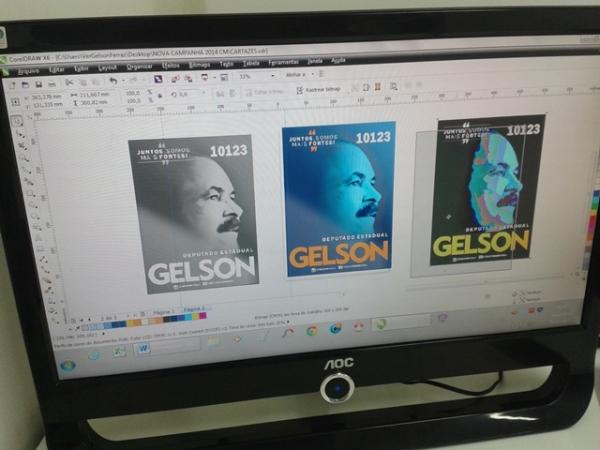 Campanha de Gelson Ferraz usa redes sociais em Fortaleza