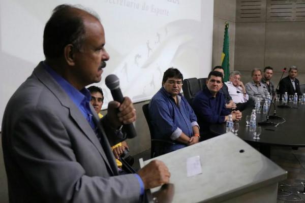 Republicano Gelson Ferraz toma posse como secretário de Esportes do Estado do Ceará