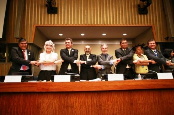 Ministro do Esporte apresenta os Jogos Mundiais dos Povos Indígenas em Fórum da ONU, em Nova York