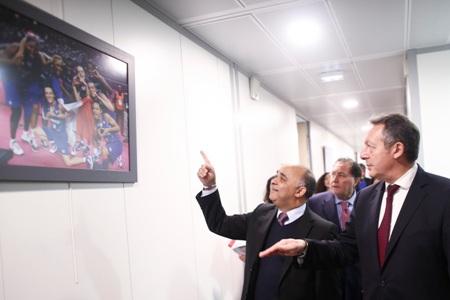 Ministros do Esporte de Brasil e França discutem parceria para estabelecer ponte entre esporte educacional e de alto rendimento