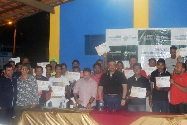 Setre qualifica 52 alunos de Construção Civil em Nossa Senhora dos Remédios