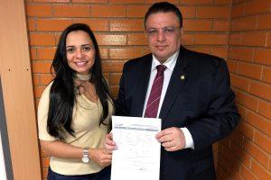 PRB Piauí recebe a filiação da empresária Diana Carvalho
