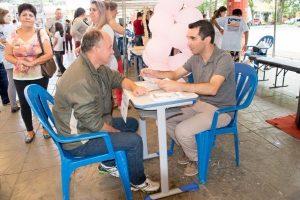 Gilberto Gomes Júnior realiza campanha de conscientização da coleta seletiva em Parobé