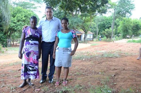 Gilmaci Santos visita quilombo em Itapeva