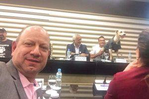 Gilmar da Cruz participa de encontro com vereadores da causa animal em São Paulo
