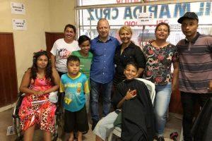 Gilmar da Cruz realiza ação social em comemoração ao Dia das Mães em Campo Grande