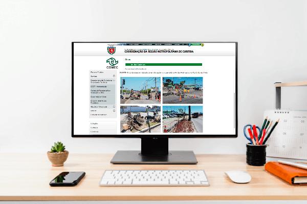 Comec lança site para que população possa acompanhar andamento de obras