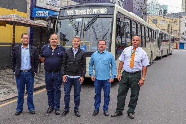 Nova linha metropolitana fará a ligação de Tunas do Paraná com Curitiba