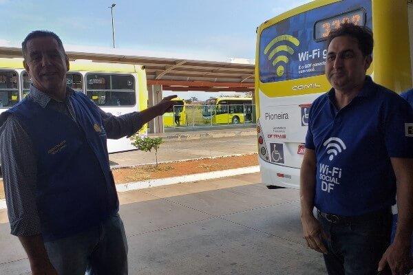 BRT de Santa Maria ganha Wi-Fi Social