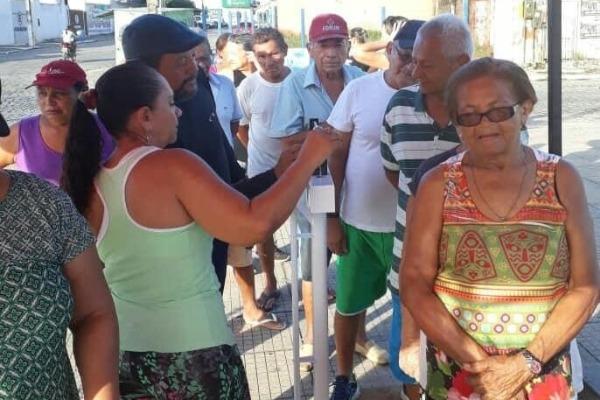 Vereadora Graça leva saúde às praças de Sapé na Paraíba