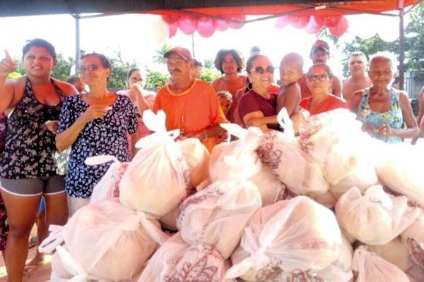 Programa Pão Solidário beneficia moradores carentes de Sapé (PB)