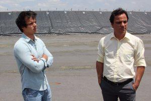 Gaulter Amado visita obras de aterro sanitário em Americana (SP)
