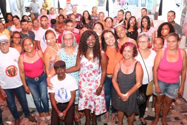 Ireuda Silva palestra sobre violência doméstica em Jandaíra