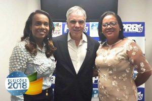 Vereadora Irmã participa de encontro com Tia Eron e Flávio Rocha em Salvador