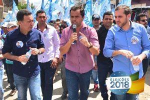 Jairo Santana inaugura comitê político em Nossa Senhora da Glória