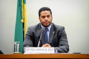 Jhonatan de Jesus anuncia a conquista de mais de R$ 2 milhões para Roraima