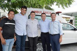Vereador João Andrade conquista ambulância para o município de Caucaia