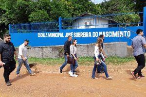 João Carlos Mello recebe a visita da Secretaria Nacional de Juventude