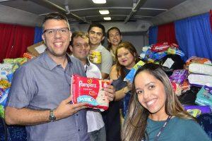 Secretaria comandada por João Carlos repassa doações ao Fundo Manaus Solidária