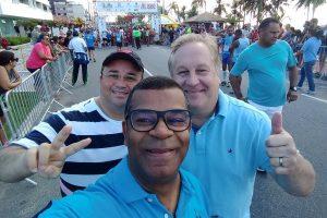 Vereador José Luiz participa e apoia Meia Maratona de João Pessoa (PB)