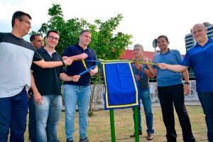 Secretário João Luz participa da inauguração de academia ao ar livre em Manaus