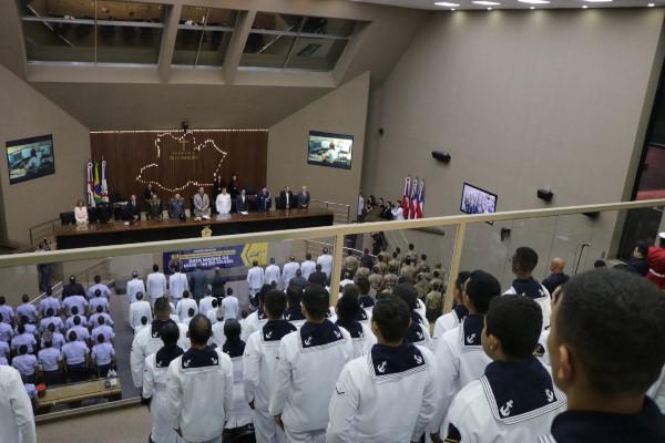 Marinha do Brasil é homenageda no Amazonas