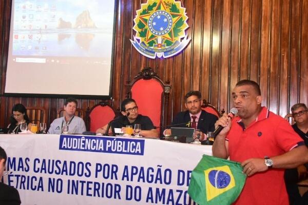 Telefonia: João Luiz realiza audiência pública em Humaitá (AM)