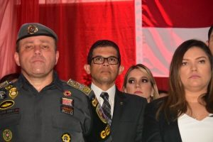 João Luiz é homenageado pela PM com a Medalha de Mérito Cândido Mariano