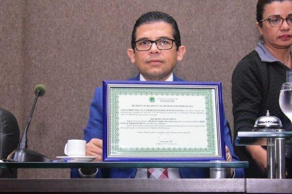 João Luiz é homenageado com Título de Cidadão Itacoatiarense