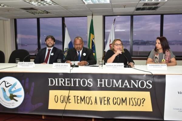 João Mendes promove conferência sobre direitos humanos